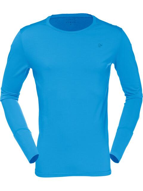 Norrøna Wool Round Neck Shirt Men Signal Blue